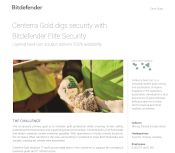Centerra Gold digs security with Bitdefender Elite Security
