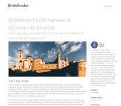 Bitdefender blocks malware at 500-year-old university