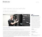 Cash delivery secured with elite endpoint protection