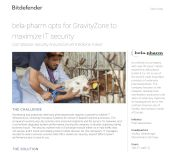 bela-pharm opts for GravityZone to maximize IT security