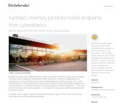 Karlstad University protects mobile endpoints from cyberattacks