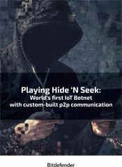 Playing Hide 'N Seek: World's first IoT Botnet with custom-built P2P communication