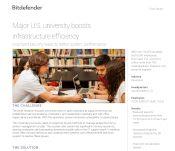 Major U.S. university boosts infrastructure efficiency