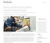 Bitdefender increases infrastructure performance, improves IT and user productivity, and delivers advanced protection