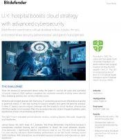 U.K. hospital boosts cloud strategy with advanced cybersecurity