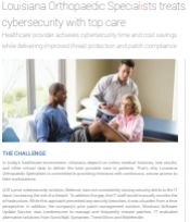 Healthcare provider achieves cybersecurity time and cost savings while delivering improved threat protection and patch compliance
