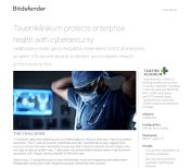 Tauernklinikum protects enterprise health with cybersecurity