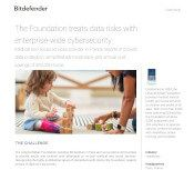 The Foundation treats data risks with enterprise-wide cybersecurity