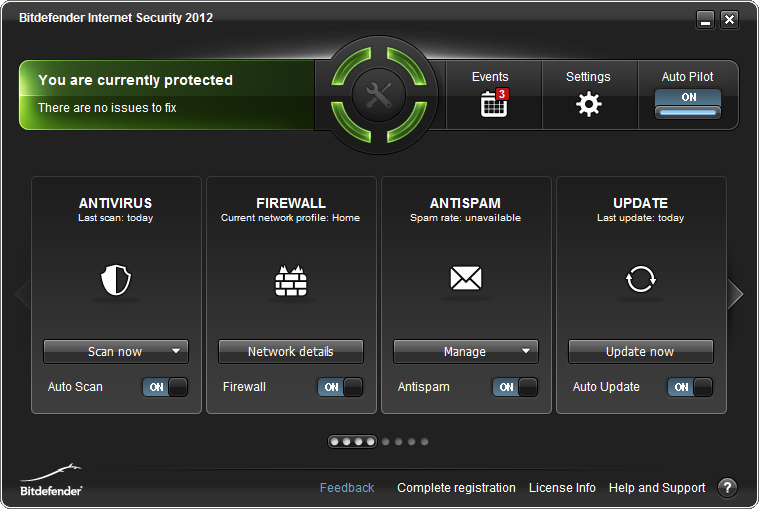 Click to view BitDefender Internet Security 2012 15.0.27 screenshot