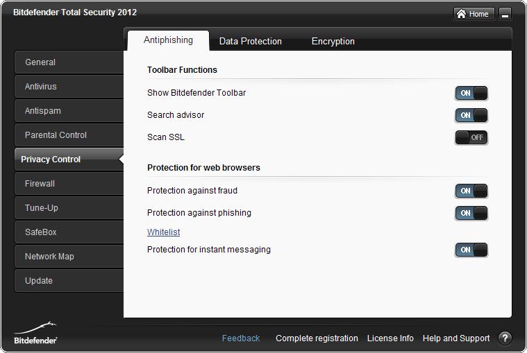 الحماية bitdefender اصداراته 2012 & Antiphishing_On.png
