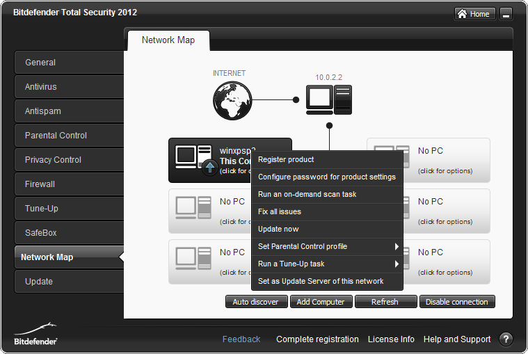 الحماية bitdefender اصداراته 2012 & Network_SettingsWindow_ServerComputer_ComputerMenu.png