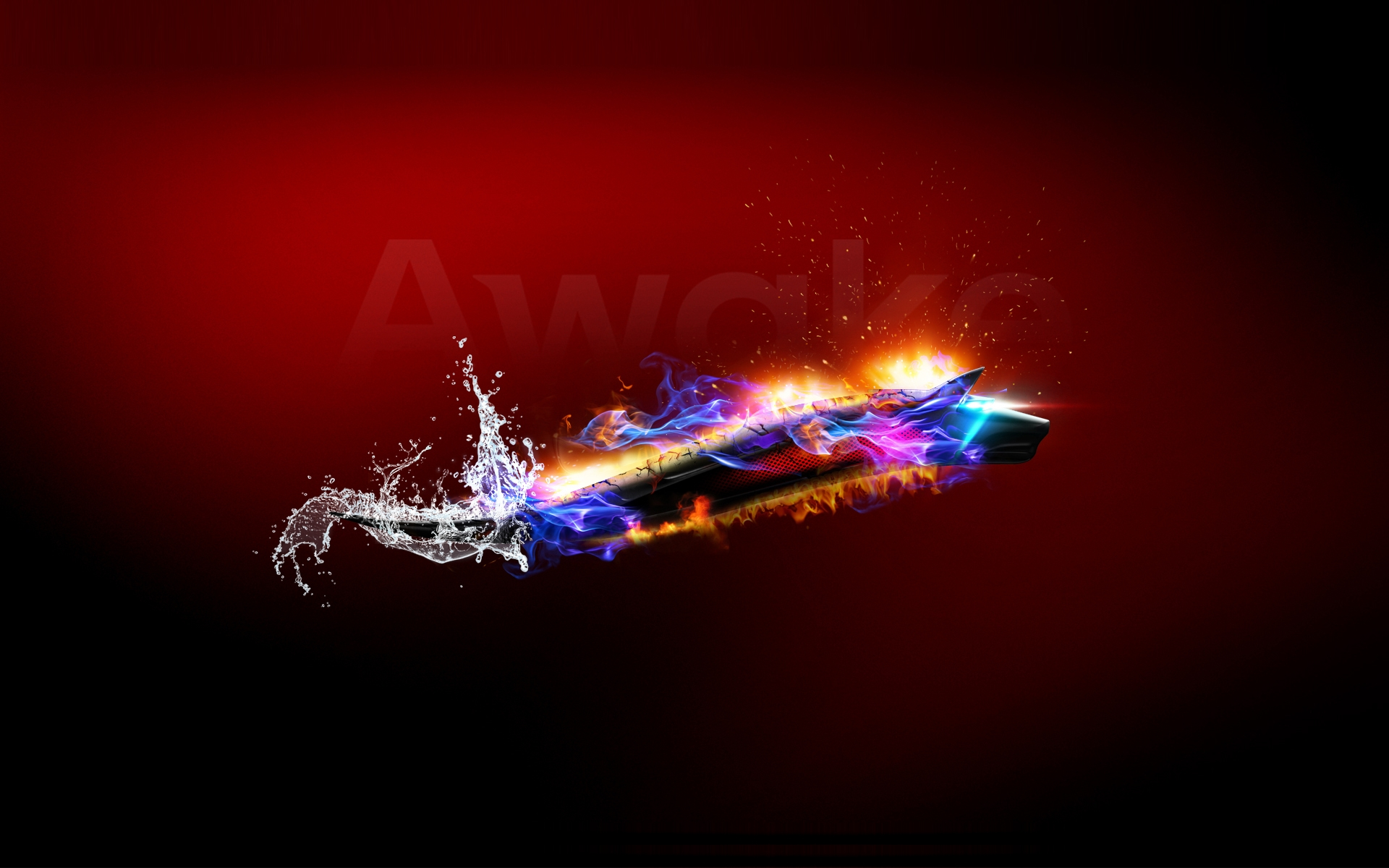 Bitdefender Dragon-Wolf wallpaper