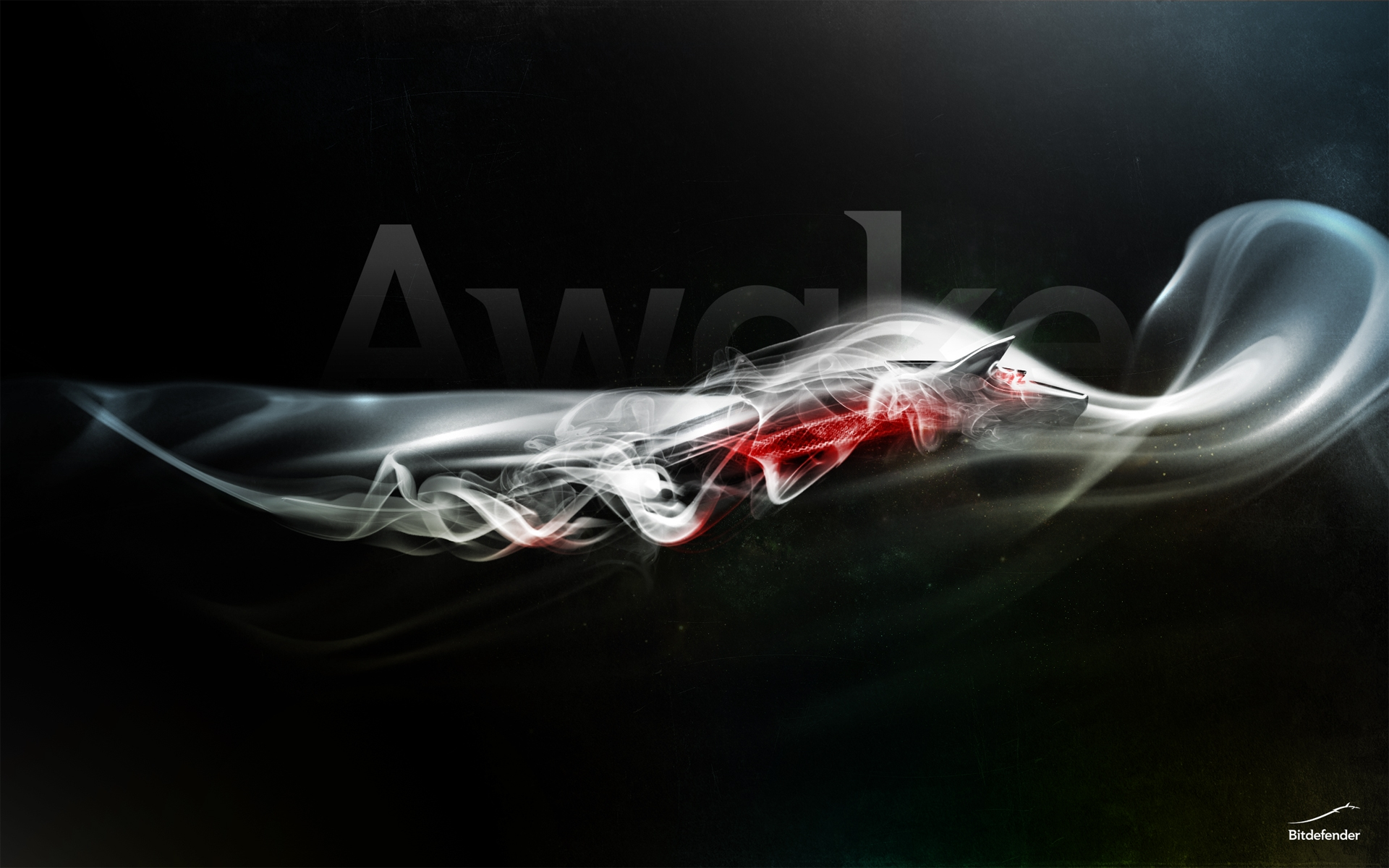 Bitdefender Mist Dragon-Wolf wallpaper