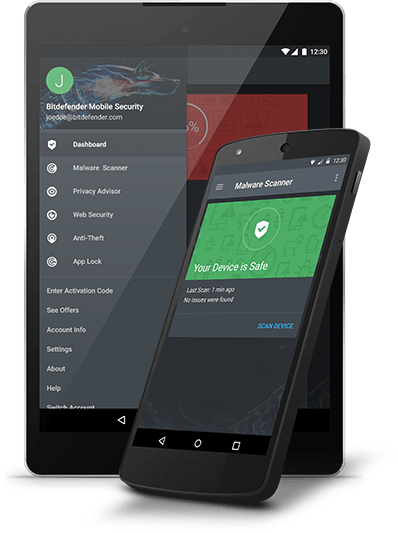 Bitdefender Mobile Security,