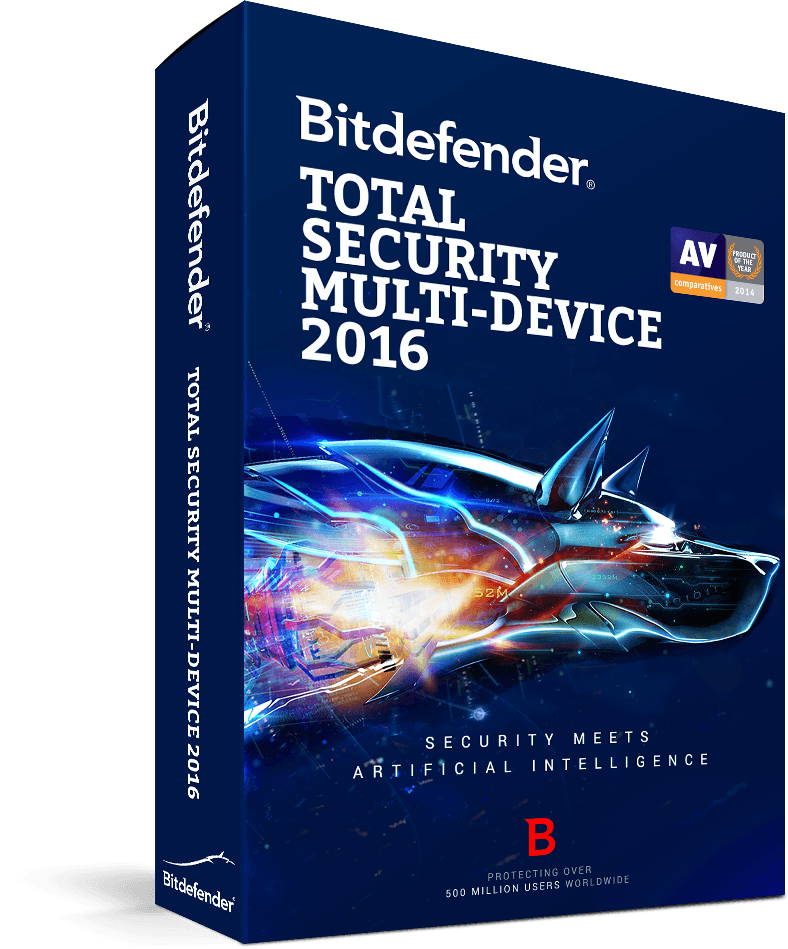 Bitdefender Total Security Multi-Device 2016