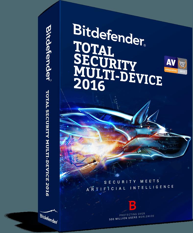 Bitdefender Total Security Multi-Device 2016
