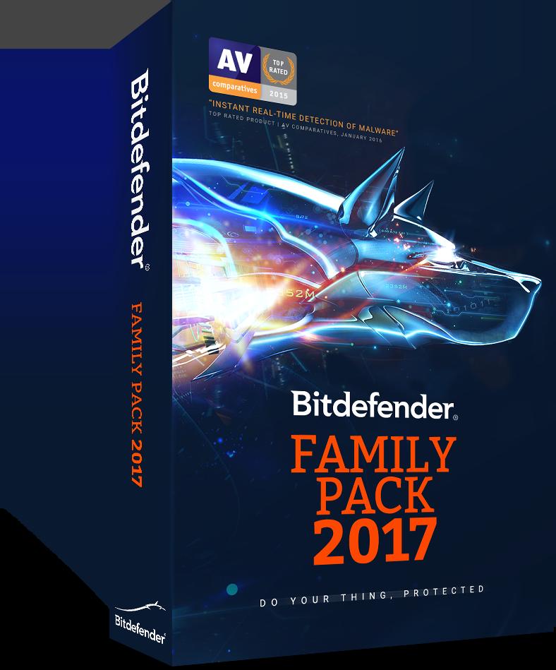 Bitdefender Family Pack 2017