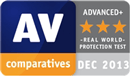 AV-Comparatives - topprankad produkt 2013 real world protection test