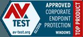 AV-Tests utmärkelse för topprodukt 2016 februari 2016