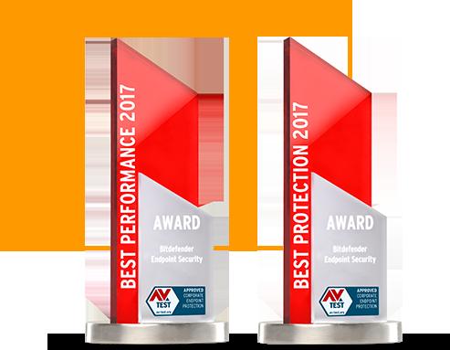 AV test 2017 - Best Performance & Best Protection