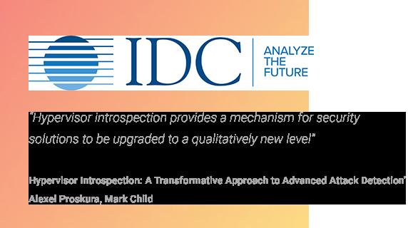 IDC - Hypervisorintrospektion för identifiering av avancerade cyberattacker