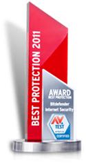 AV-Test Bästa skydd 2011 årlig utmärkelse