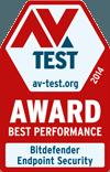 AV-Tests utmärkelse för bästa prestanda 2014