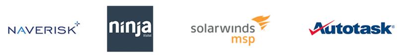 Partner with NaveRisk, Solarwinds MSP, Autotask