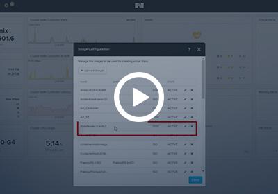 Nutanix GravityZone integration Video link