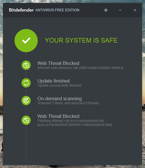 Free Antivirus Software Download Bitdefender Antivirus Free