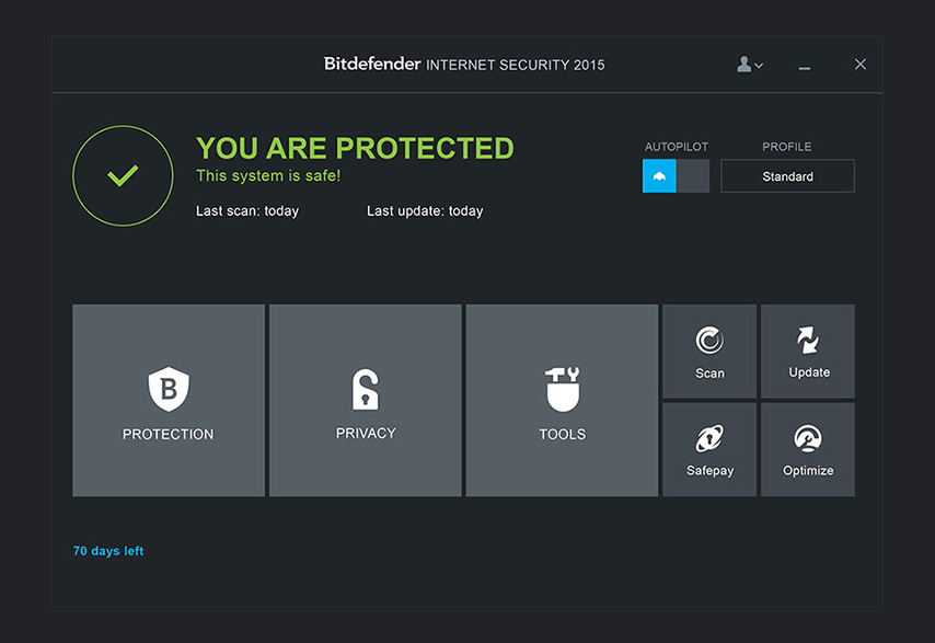 BitDefender Internet Security 2015 – 9 luni licenta GRATUITA