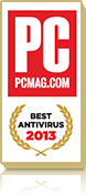Best Antivirus For 2013 by PC MAG