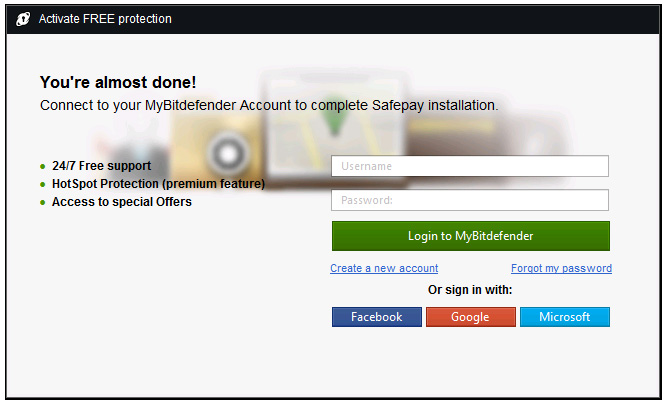 Safepay is a secure browser for banking