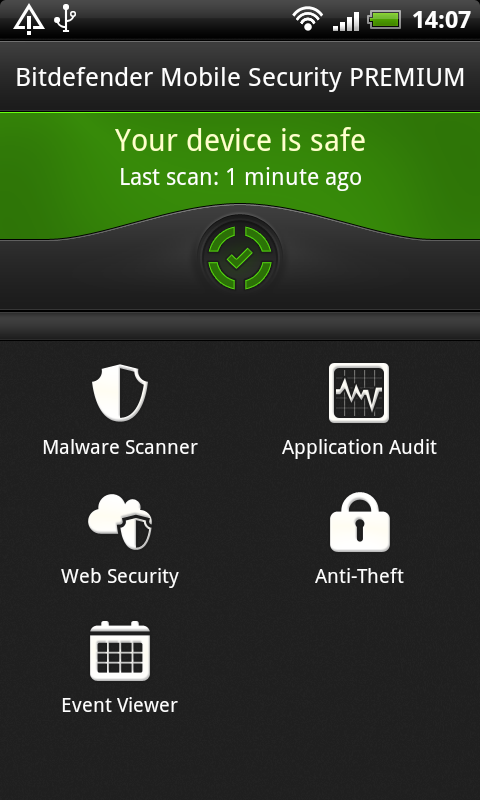 Bitdefender Sphere Screenshot