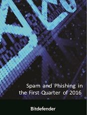 Spam and Phishing in the First Quarter of 2016