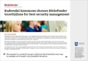 Rudersdal Kommune chooses Bitdefender GravityZone for best security management