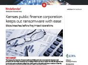 Kansas public finance corporation keeps out ransomware with ease
