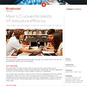 Major U.S. university boosts infrastructure efficiency