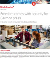 Freedom comes with security for German press