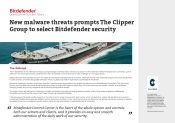 New malware threats s The Clipper Group to select Bitdefender security