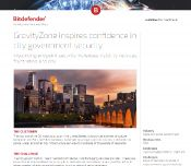 GravityZone inspires confidence in city government security
