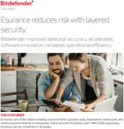 Esurance reduces risk with layered security