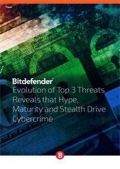 Evolution of Top 3 Threats Reveals that Hype, Maturity and Stealth Drive Cybercrime