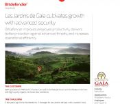 Les Jardins de Gaïa cultivates growth with advanced security