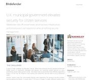U.K. municipal government elevates security for citizen services