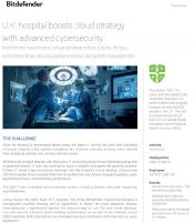 U.K. hospital boosts cloud strategy with advanced cybersecurity
