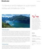 TUI Benelux sends malware on a permanent holiday with Bitdefender NTSA