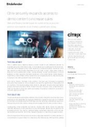 Citrix securely expands access to demo center to increase sales
