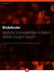 Multiple Vulnerabilities in Belkin WeMo Insight Switch
