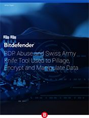 RDP Abuse and Swiss Army Knife Tool Used to Pillage, Encrypt and Manipulate Data